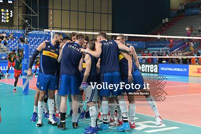 ITALIA vs CAMERUN, 2019 FIVB Intercontinental Olympic Qualification Tournament - Men's Pool C IT, 9 agosto 2019. Foto: Michele Benda per VolleyFoto.it [riferimento file: 2019-08-09/NZ6_2857]