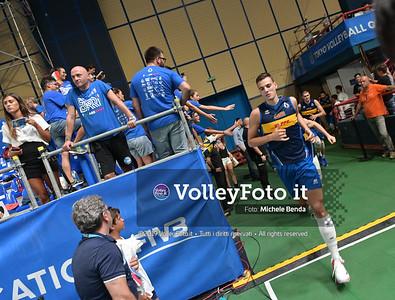 ITALIA vs CAMERUN, 2019 FIVB Intercontinental Olympic Qualification Tournament - Men's Pool C IT, 9 agosto 2019. Foto: Michele Benda per VolleyFoto.it [riferimento file: 2019-08-09/NZ6_2839]