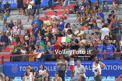 ITALIA vs CAMERUN, 2019 FIVB Intercontinental Olympic Qualification Tournament - Men's Pool C IT, 9 agosto 2019. Foto: Michele Benda per VolleyFoto.it [riferimento file: 2019-08-09/ND5_5411]