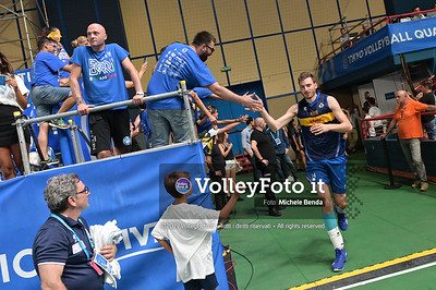 ITALIA vs CAMERUN, 2019 FIVB Intercontinental Olympic Qualification Tournament - Men's Pool C IT, 9 agosto 2019. Foto: Michele Benda per VolleyFoto.it [riferimento file: 2019-08-09/NZ6_2846]
