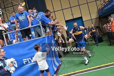 ITALIA vs CAMERUN, 2019 FIVB Intercontinental Olympic Qualification Tournament - Men's Pool C IT, 9 agosto 2019. Foto: Michele Benda per VolleyFoto.it [riferimento file: 2019-08-09/NZ6_2851]