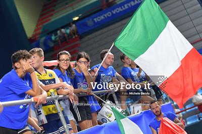 ITALIA vs CAMERUN, 2019 FIVB Intercontinental Olympic Qualification Tournament - Men's Pool C IT, 9 agosto 2019. Foto: Michele Benda per VolleyFoto.it [riferimento file: 2019-08-09/ND5_5430]