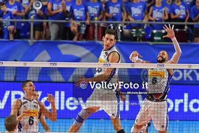 ITALIA vs AUSTRALIA, 2019 FIVB Intercontinental Olympic Qualification Tournament - Men's Pool C IT, 10 agosto 2019. Foto: Michele Benda per VolleyFoto.it [riferimento file: 2019-08-10/ND5_6269]