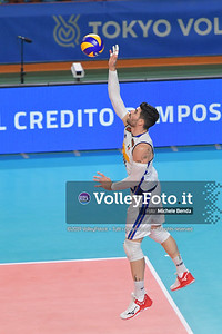 Filippo LANZA, serving a ball