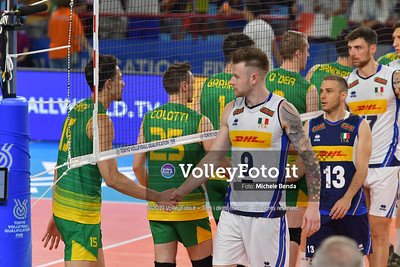 ITALIA vs AUSTRALIA, 2019 FIVB Intercontinental Olympic Qualification Tournament - Men's Pool C IT, 10 agosto 2019. Foto: Michele Benda per VolleyFoto.it [riferimento file: 2019-08-10/ND5_6746]