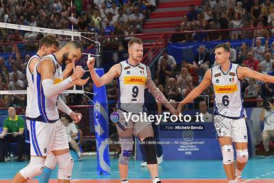 ITALIA vs AUSTRALIA, 2019 FIVB Intercontinental Olympic Qualification Tournament - Men's Pool C IT, 10 agosto 2019. Foto: Michele Benda per VolleyFoto.it [riferimento file: 2019-08-10/ND5_6315]