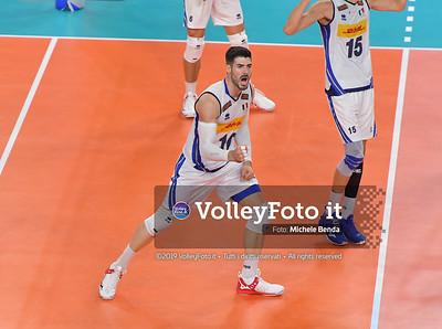 Filippo LANZA, celebrates a point