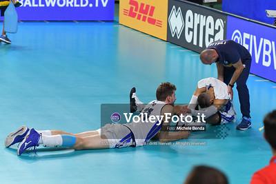 ITALIA vs AUSTRALIA, 2019 FIVB Intercontinental Olympic Qualification Tournament - Men's Pool C IT, 10 agosto 2019. Foto: Michele Benda per VolleyFoto.it [riferimento file: 2019-08-10/ND5_6764]