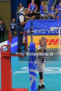 ITALIA vs AUSTRALIA, 2019 FIVB Intercontinental Olympic Qualification Tournament - Men's Pool C IT, 10 agosto 2019. Foto: Michele Benda per VolleyFoto.it [riferimento file: 2019-08-10/ND5_6286]