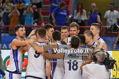 Italy, celebrates victory