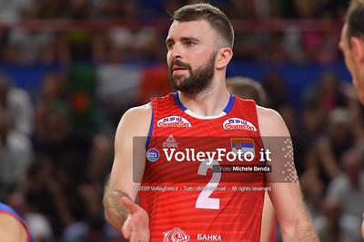 ITALIA vs SERBIA, 2019 FIVB Intercontinental Olympic Qualification Tournament - Men's Pool C IT, 11 agosto 2019. Foto: Michele Benda per VolleyFoto.it [riferimento file: 2019-08-11/ND5_7181]