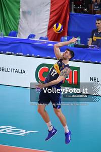ITALIA vs SERBIA, 2019 FIVB Intercontinental Olympic Qualification Tournament - Men's Pool C IT, 11 agosto 2019. Foto: Michele Benda per VolleyFoto.it [riferimento file: 2019-08-11/ND5_6949]