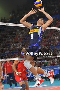 ITALIA vs SERBIA, 2019 FIVB Intercontinental Olympic Qualification Tournament - Men's Pool C IT, 11 agosto 2019. Foto: Michele Benda per VolleyFoto.it [riferimento file: 2019-08-11/ND5_7280]