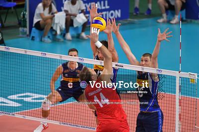ITALIA vs SERBIA, 2019 FIVB Intercontinental Olympic Qualification Tournament - Men's Pool C IT, 11 agosto 2019. Foto: Michele Benda per VolleyFoto.it [riferimento file: 2019-08-11/ND5_6905]