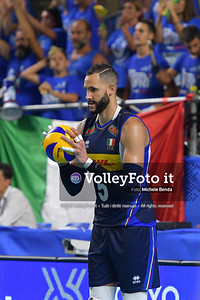 ITALIA vs SERBIA, 2019 FIVB Intercontinental Olympic Qualification Tournament - Men's Pool C IT, 11 agosto 2019. Foto: Michele Benda per VolleyFoto.it [riferimento file: 2019-08-11/ND5_7268]