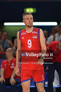 ITALIA vs SERBIA, 2019 FIVB Intercontinental Olympic Qualification Tournament - Men's Pool C IT, 11 agosto 2019. Foto: Michele Benda per VolleyFoto.it [riferimento file: 2019-08-11/ND5_7210]