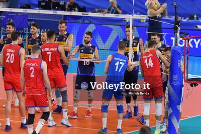 ITALIA vs SERBIA, 2019 FIVB Intercontinental Olympic Qualification Tournament - Men's Pool C IT, 11 agosto 2019. Foto: Michele Benda per VolleyFoto.it [riferimento file: 2019-08-11/ND5_6784]