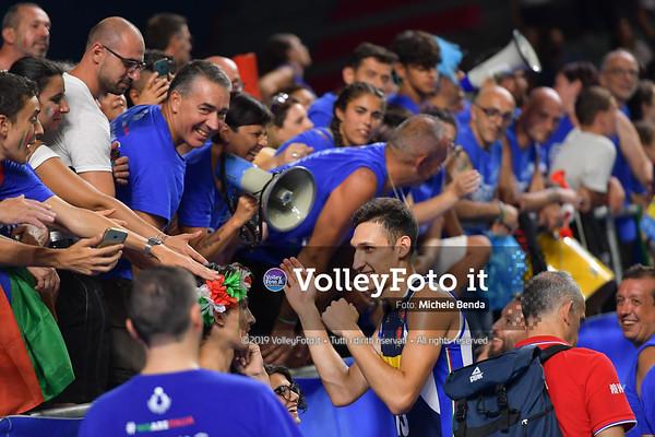 ITALIA vs SERBIA, 2019 FIVB Intercontinental Olympic Qualification Tournament - Men's Pool C IT, 11 agosto 2019. Foto: Michele Benda per VolleyFoto.it [riferimento file: 2019-08-11/ND5_7598]