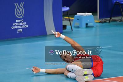 ITALIA vs SERBIA, 2019 FIVB Intercontinental Olympic Qualification Tournament - Men's Pool C IT, 11 agosto 2019. Foto: Michele Benda per VolleyFoto.it [riferimento file: 2019-08-11/ND5_6776]