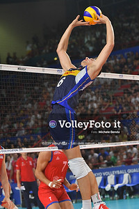 ITALIA vs SERBIA, 2019 FIVB Intercontinental Olympic Qualification Tournament - Men's Pool C IT, 11 agosto 2019. Foto: Michele Benda per VolleyFoto.it [riferimento file: 2019-08-11/ND5_7281]