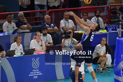 ITALIA vs SERBIA, 2019 FIVB Intercontinental Olympic Qualification Tournament - Men's Pool C IT, 11 agosto 2019. Foto: Michele Benda per VolleyFoto.it [riferimento file: 2019-08-11/ND5_6987]