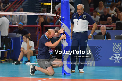 ITALIA vs SERBIA, 2019 FIVB Intercontinental Olympic Qualification Tournament - Men's Pool C IT, 11 agosto 2019. Foto: Michele Benda per VolleyFoto.it [riferimento file: 2019-08-11/ND5_7427]