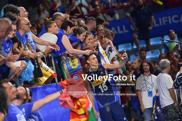 ITALIA vs SERBIA, 2019 FIVB Intercontinental Olympic Qualification Tournament - Men's Pool C IT, 11 agosto 2019. Foto: Michele Benda per VolleyFoto.it [riferimento file: 2019-08-11/ND5_7593]
