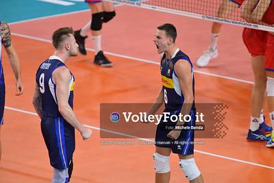 ITALIA vs SERBIA, 2019 FIVB Intercontinental Olympic Qualification Tournament - Men's Pool C IT, 11 agosto 2019. Foto: Michele Benda per VolleyFoto.it [riferimento file: 2019-08-11/ND5_7066]