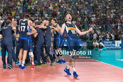 ITALIA vs SERBIA, 2019 FIVB Intercontinental Olympic Qualification Tournament - Men's Pool C IT, 11 agosto 2019. Foto: Michele Benda per VolleyFoto.it [riferimento file: 2019-08-11/NZ6_3102]