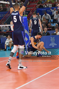 ITALIA vs SERBIA, 2019 FIVB Intercontinental Olympic Qualification Tournament - Men's Pool C IT, 11 agosto 2019. Foto: Michele Benda per VolleyFoto.it [riferimento file: 2019-08-11/ND5_7252]