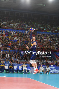 ITALIA vs SERBIA, 2019 FIVB Intercontinental Olympic Qualification Tournament - Men's Pool C IT, 11 agosto 2019. Foto: Michele Benda per VolleyFoto.it [riferimento file: 2019-08-11/ND5_7442]