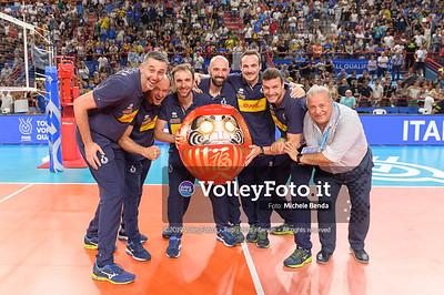 ITALIA vs SERBIA, 2019 FIVB Intercontinental Olympic Qualification Tournament - Men's Pool C IT, 11 agosto 2019. Foto: Michele Benda per VolleyFoto.it [riferimento file: 2019-08-11/NZ6_3299]