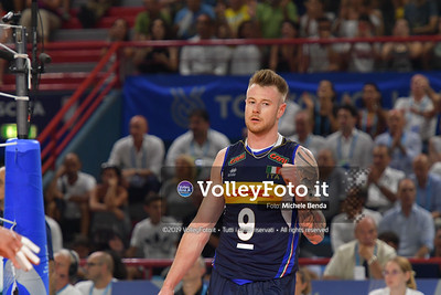 ITALIA vs SERBIA, 2019 FIVB Intercontinental Olympic Qualification Tournament - Men's Pool C IT, 11 agosto 2019. Foto: Michele Benda per VolleyFoto.it [riferimento file: 2019-08-11/ND5_7316]