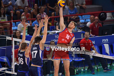 ITALIA vs SERBIA, 2019 FIVB Intercontinental Olympic Qualification Tournament - Men's Pool C IT, 11 agosto 2019. Foto: Michele Benda per VolleyFoto.it [riferimento file: 2019-08-11/ND5_7085]
