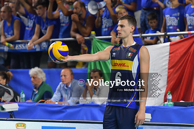 ITALIA vs SERBIA, 2019 FIVB Intercontinental Olympic Qualification Tournament - Men's Pool C IT, 11 agosto 2019. Foto: Michele Benda per VolleyFoto.it [riferimento file: 2019-08-11/ND5_7374]
