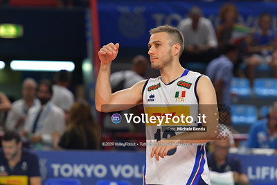 ITALIA vs SERBIA, 2019 FIVB Intercontinental Olympic Qualification Tournament - Men's Pool C IT, 11 agosto 2019. Foto: Michele Benda per VolleyFoto.it [riferimento file: 2019-08-11/ND5_7226]