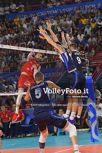 ITALIA vs SERBIA, 2019 FIVB Intercontinental Olympic Qualification Tournament - Men's Pool C IT, 11 agosto 2019. Foto: Michele Benda per VolleyFoto.it [riferimento file: 2019-08-11/ND5_7250]