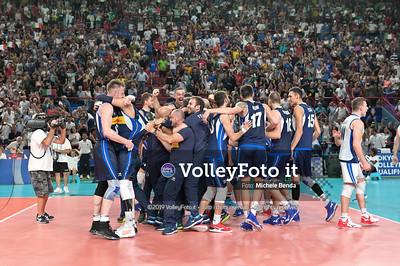 ITALIA vs SERBIA, 2019 FIVB Intercontinental Olympic Qualification Tournament - Men's Pool C IT, 11 agosto 2019. Foto: Michele Benda per VolleyFoto.it [riferimento file: 2019-08-11/NZ6_3110]