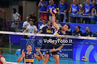 ITALIA vs SERBIA, 2019 FIVB Intercontinental Olympic Qualification Tournament - Men's Pool C IT, 11 agosto 2019. Foto: Michele Benda per VolleyFoto.it [riferimento file: 2019-08-11/ND5_6801]