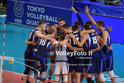 ITALIA vs SERBIA, 2019 FIVB Intercontinental Olympic Qualification Tournament - Men's Pool C IT, 11 agosto 2019. Foto: Michele Benda per VolleyFoto.it [riferimento file: 2019-08-11/ND5_6848]