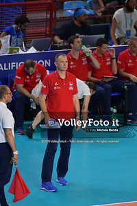 ITALIA vs SERBIA, 2019 FIVB Intercontinental Olympic Qualification Tournament - Men's Pool C IT, 11 agosto 2019. Foto: Michele Benda per VolleyFoto.it [riferimento file: 2019-08-11/ND5_6946]