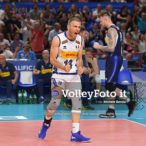 ITALIA vs SERBIA, 2019 FIVB Intercontinental Olympic Qualification Tournament - Men's Pool C IT, 11 agosto 2019. Foto: Michele Benda per VolleyFoto.it [riferimento file: 2019-08-11/ND5_7506]