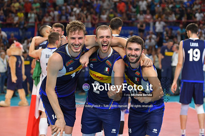 ITALIA vs SERBIA, 2019 FIVB Intercontinental Olympic Qualification Tournament - Men's Pool C IT, 11 agosto 2019. Foto: Michele Benda per VolleyFoto.it [riferimento file: 2019-08-11/ND5_7580]
