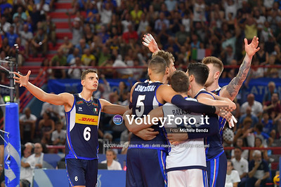 ITALIA vs SERBIA, 2019 FIVB Intercontinental Olympic Qualification Tournament - Men's Pool C IT, 11 agosto 2019. Foto: Michele Benda per VolleyFoto.it [riferimento file: 2019-08-11/ND5_7446]