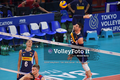 ITALIA vs SERBIA, 2019 FIVB Intercontinental Olympic Qualification Tournament - Men's Pool C IT, 11 agosto 2019. Foto: Michele Benda per VolleyFoto.it [riferimento file: 2019-08-11/ND5_6827]