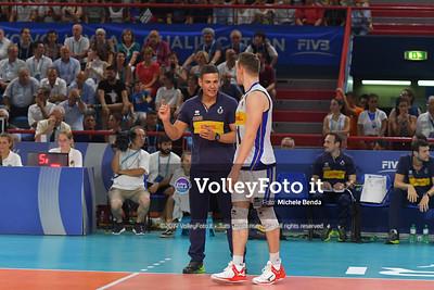 ITALIA vs SERBIA, 2019 FIVB Intercontinental Olympic Qualification Tournament - Men's Pool C IT, 11 agosto 2019. Foto: Michele Benda per VolleyFoto.it [riferimento file: 2019-08-11/ND5_7320]