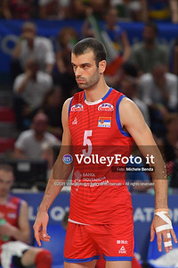 ITALIA vs SERBIA, 2019 FIVB Intercontinental Olympic Qualification Tournament - Men's Pool C IT, 11 agosto 2019. Foto: Michele Benda per VolleyFoto.it [riferimento file: 2019-08-11/ND5_7214]