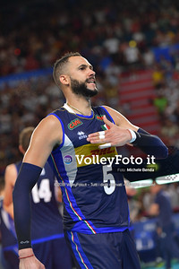 ITALIA vs SERBIA, 2019 FIVB Intercontinental Olympic Qualification Tournament - Men's Pool C IT, 11 agosto 2019. Foto: Michele Benda per VolleyFoto.it [riferimento file: 2019-08-11/ND5_7476]