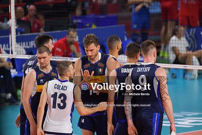 ITALIA vs SERBIA, 2019 FIVB Intercontinental Olympic Qualification Tournament - Men's Pool C IT, 11 agosto 2019. Foto: Michele Benda per VolleyFoto.it [riferimento file: 2019-08-11/ND5_7122]