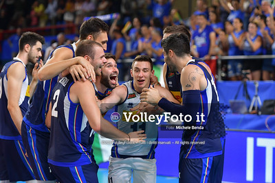ITALIA vs SERBIA, 2019 FIVB Intercontinental Olympic Qualification Tournament - Men's Pool C IT, 11 agosto 2019. Foto: Michele Benda per VolleyFoto.it [riferimento file: 2019-08-11/ND5_7585]